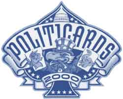 Politicards 2000 motif by Michael Manoogian