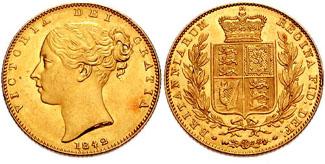 1842 sovereign