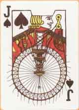 Jack of spades by Chris Larson