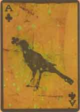 Ace of clubs by Christine Baeumler