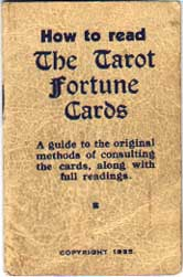 Thomson-Leng Publications Tarot booklet, 1935