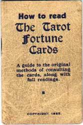 Thomson-Leng Publications Tarot booklet, 1935