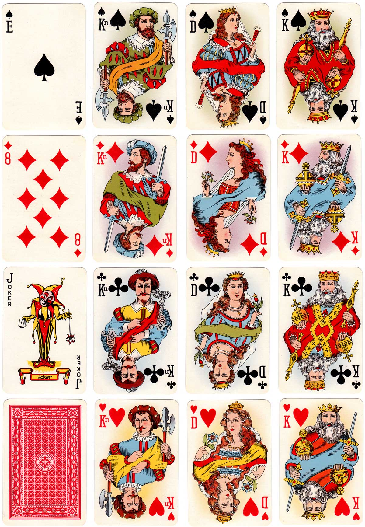 501 playing cards by Alf Cooke