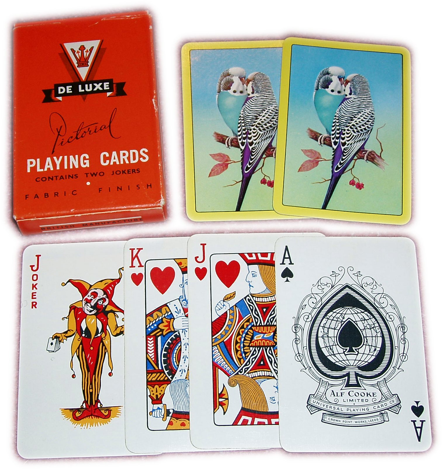 Alf Cooke Pictorial Playing Cards, c.1960