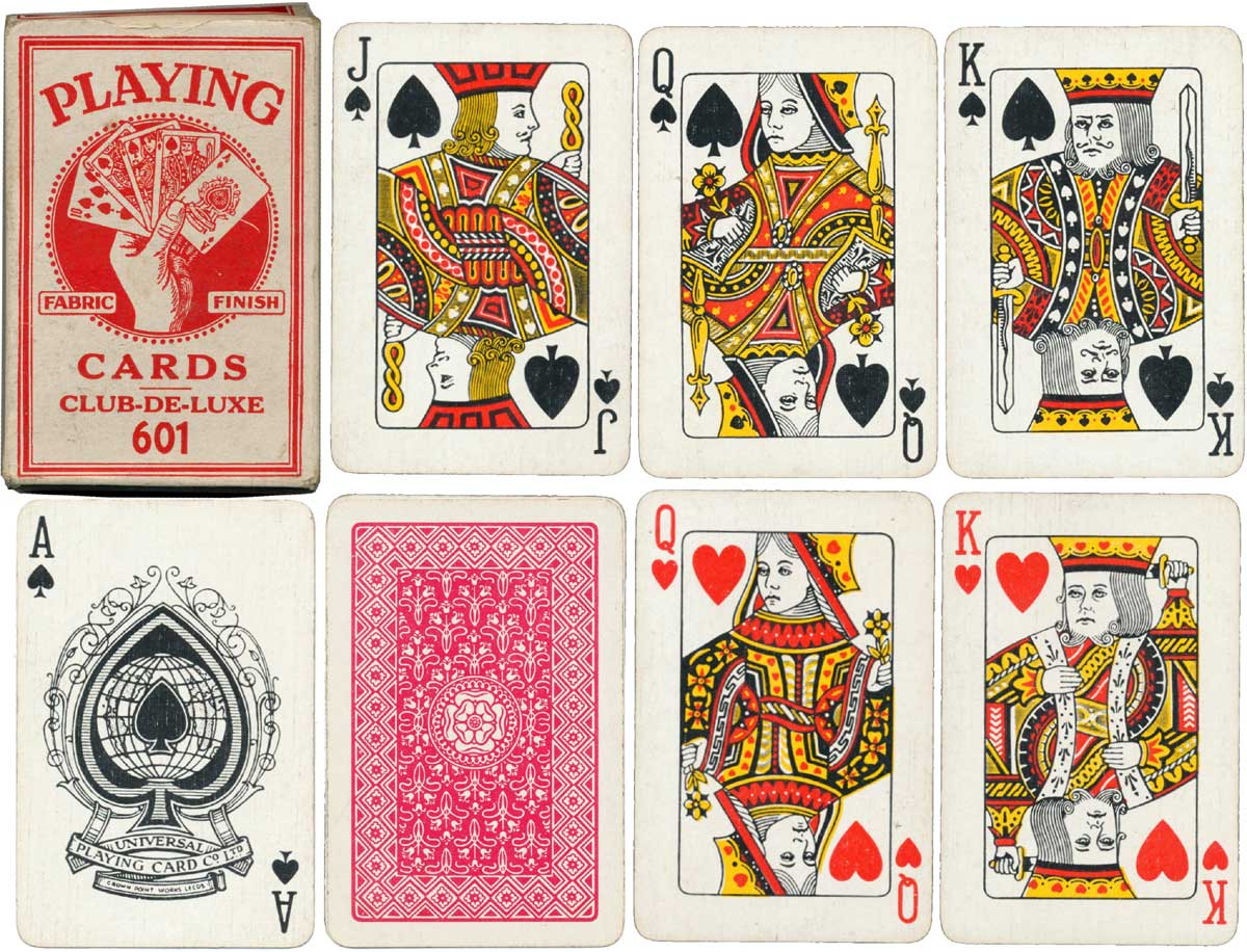 Club De Luxe 601 Playing cards, c.1935