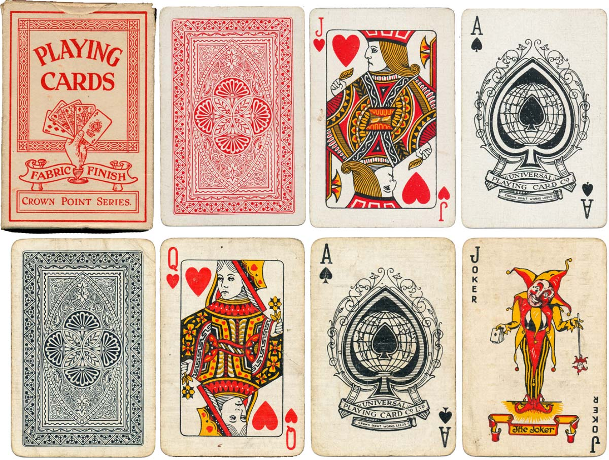 Crown Point Playing cards, c.1930-35