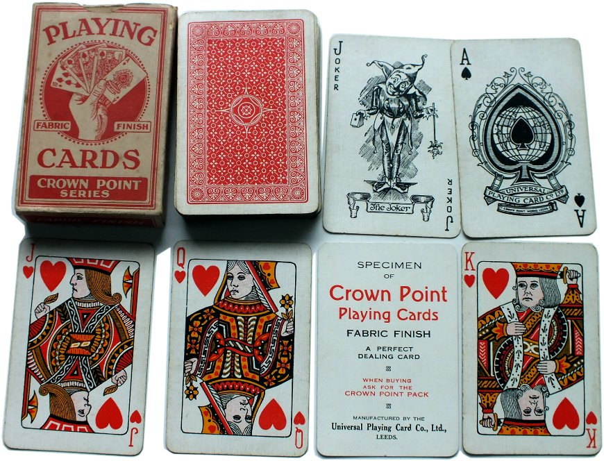 Crown Point Playing cards, c.1925-30