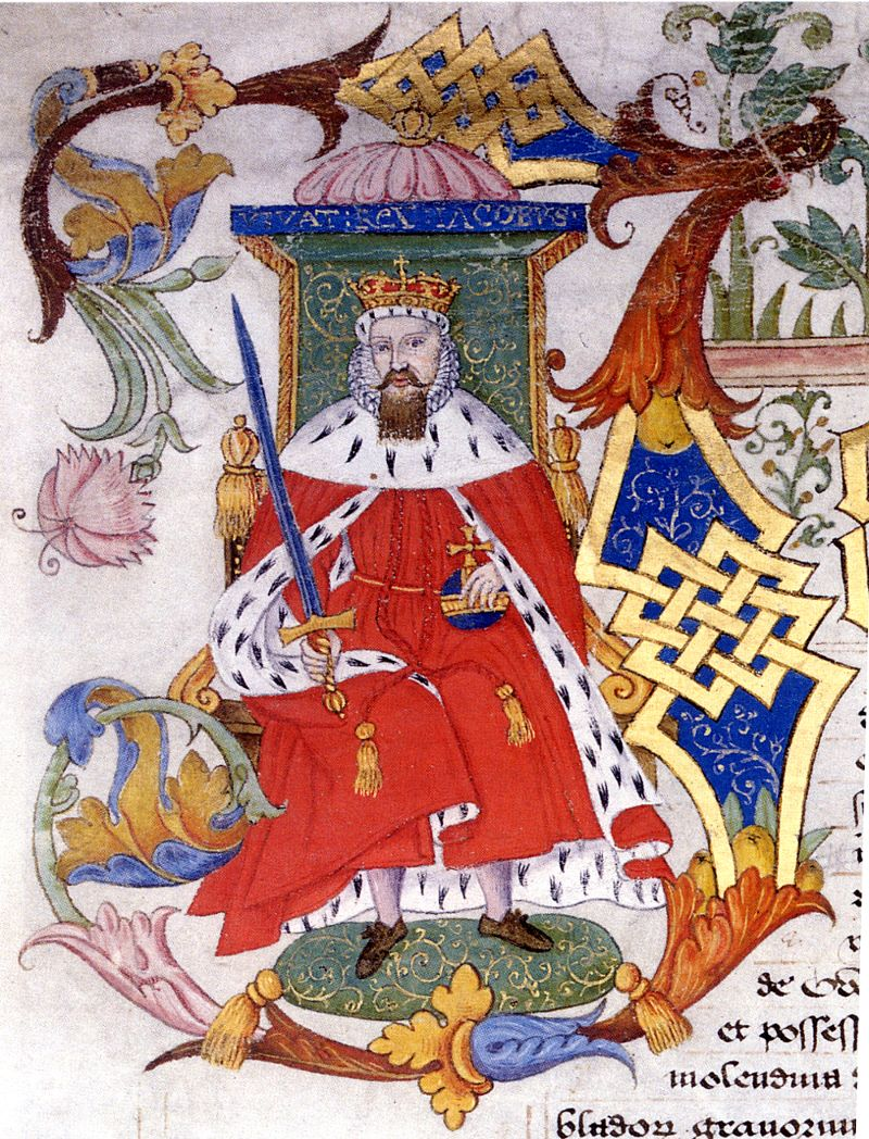 King James I, 1603-1625