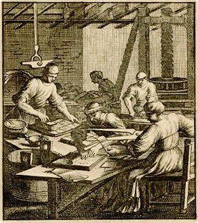 18th Century Playing Card Manufacture