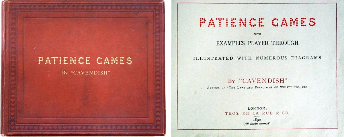 "Patience Games by ""Cavendish"", Thos. De La Rue, London, 1890"