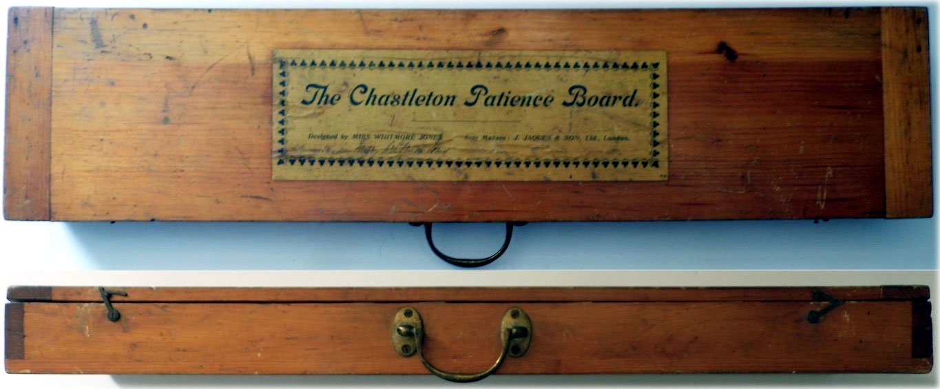the Chastleton Patience Board produced by John Jaques & Son Ltd
