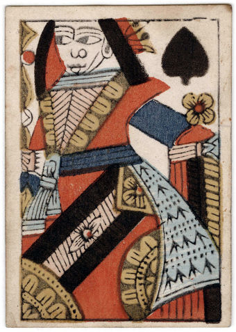 Queen of Spades by Amos Whitney