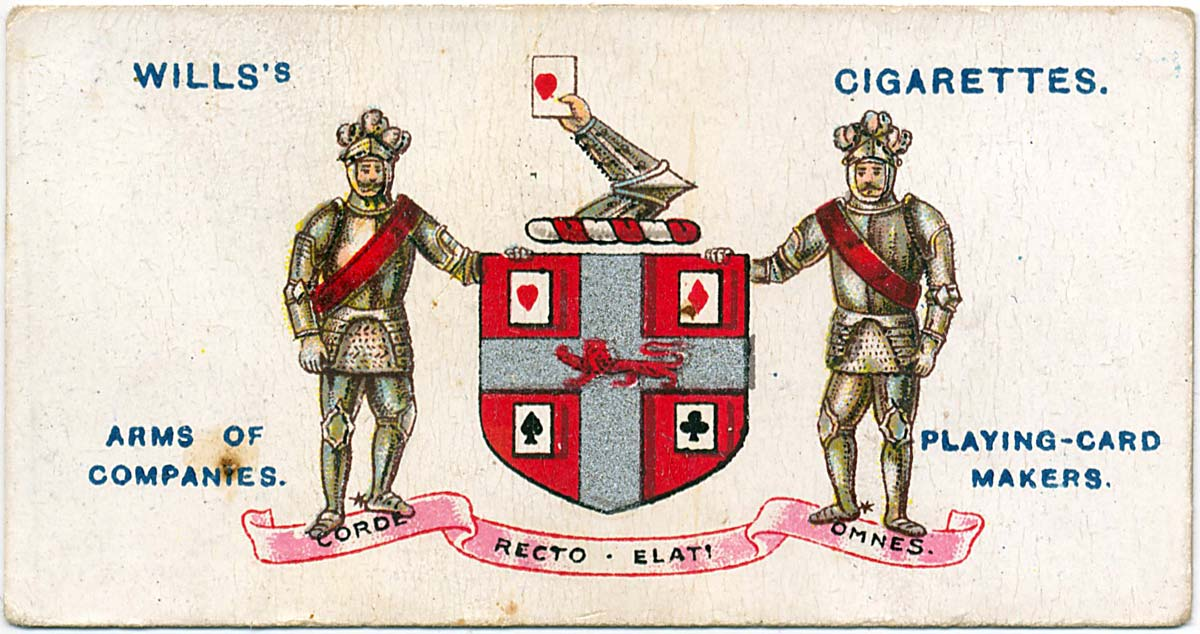 1917 Wills's Cigarette Arms of Companies series