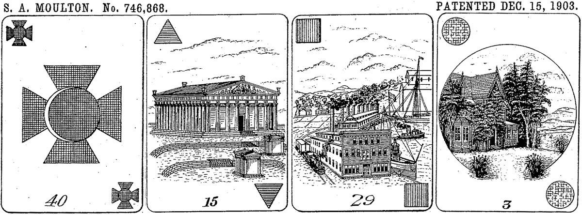 Cartomancy Cards, 1903