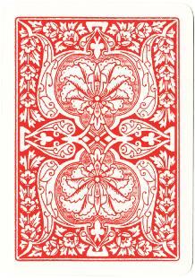 Animal Grab card game back, c.1900