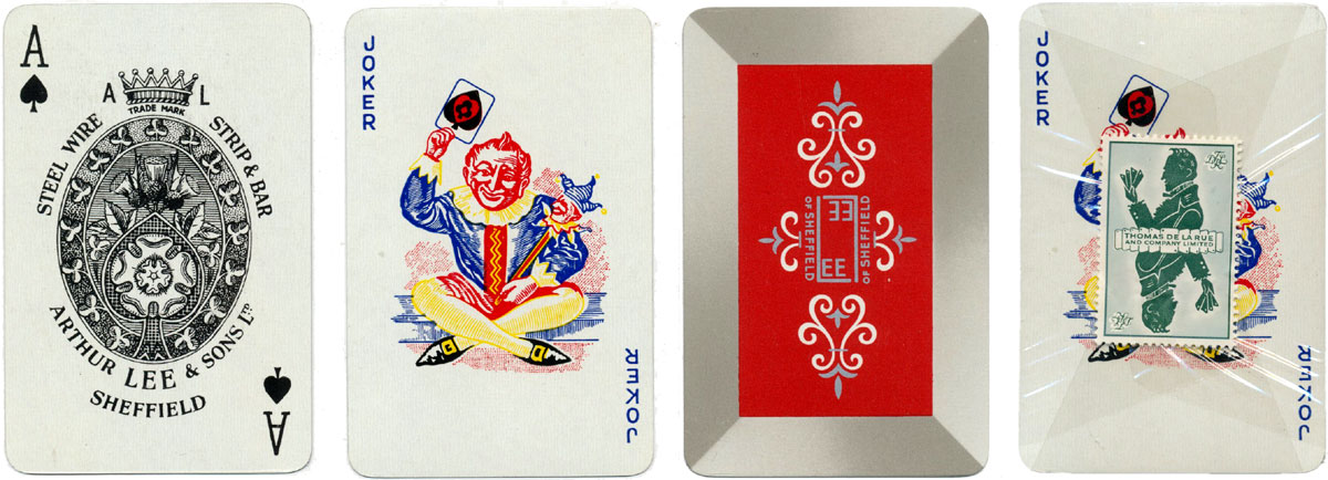 Advertising deck produced for Arthur Lee and Sons Ltd of Sheffield by Thomas De la Rue around 1958
