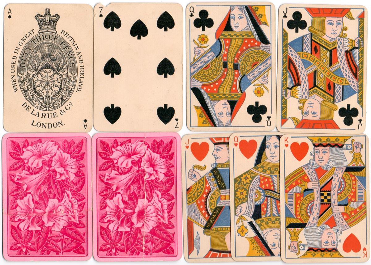 standard double-ended Bézique pack c.1890-1900