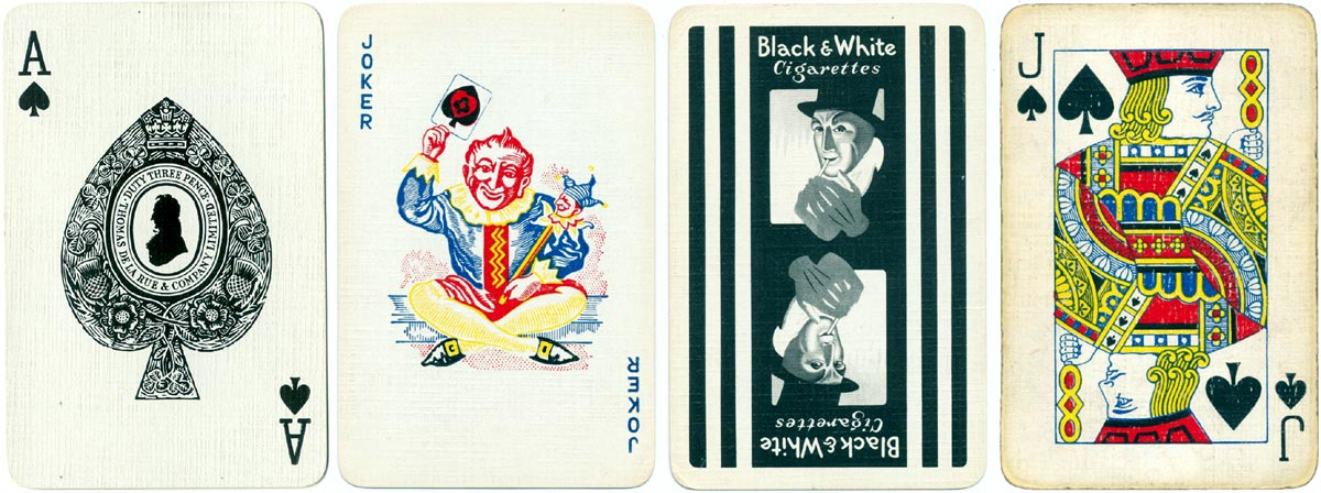 Black & White Cigarettes, c.1957