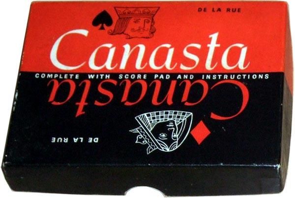 """De la Rue boxed """"Canasta"""" set, c.1962"""