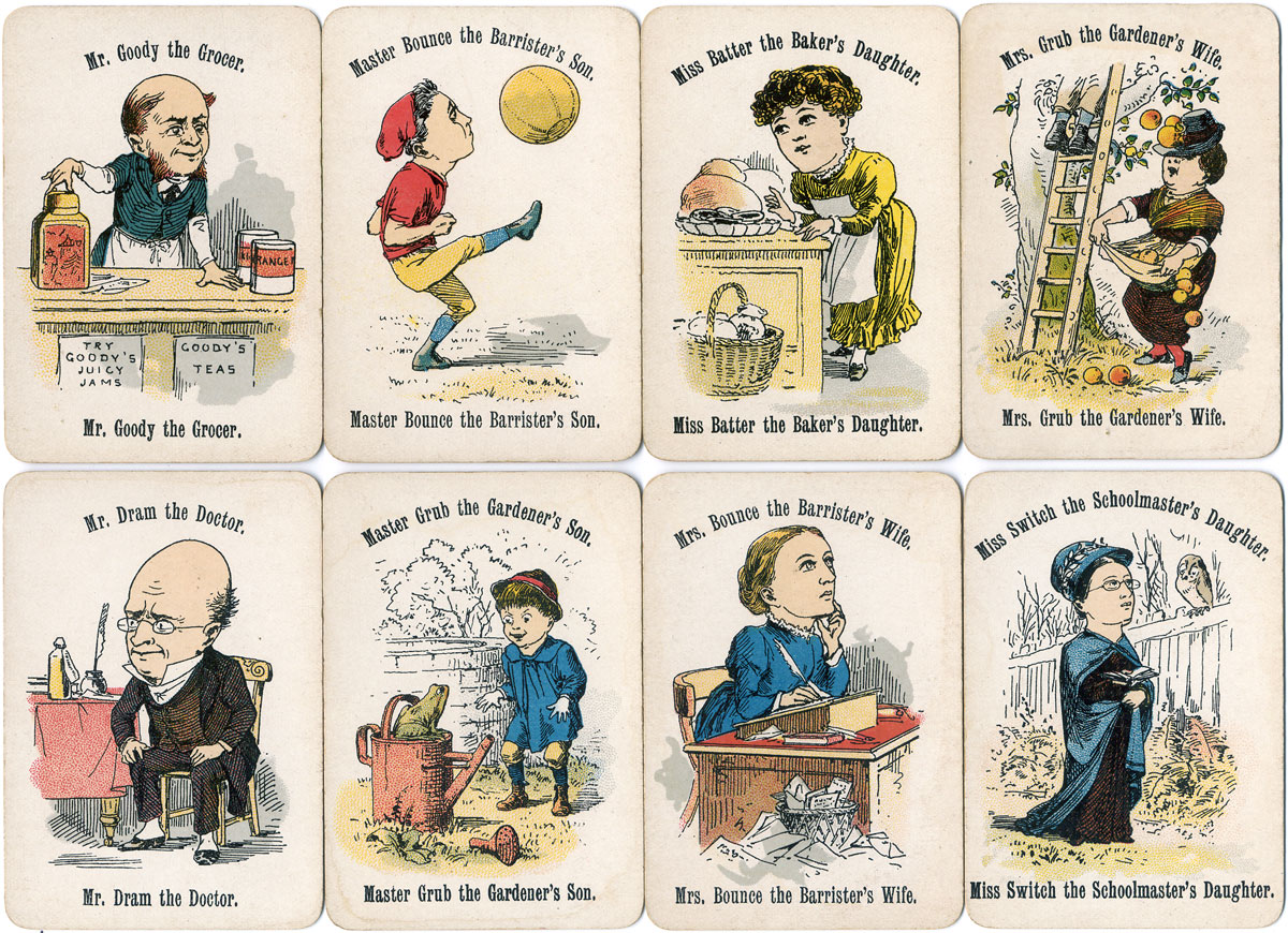 Cheery Families printed by De La Rue & Co., Ltd, c.1893