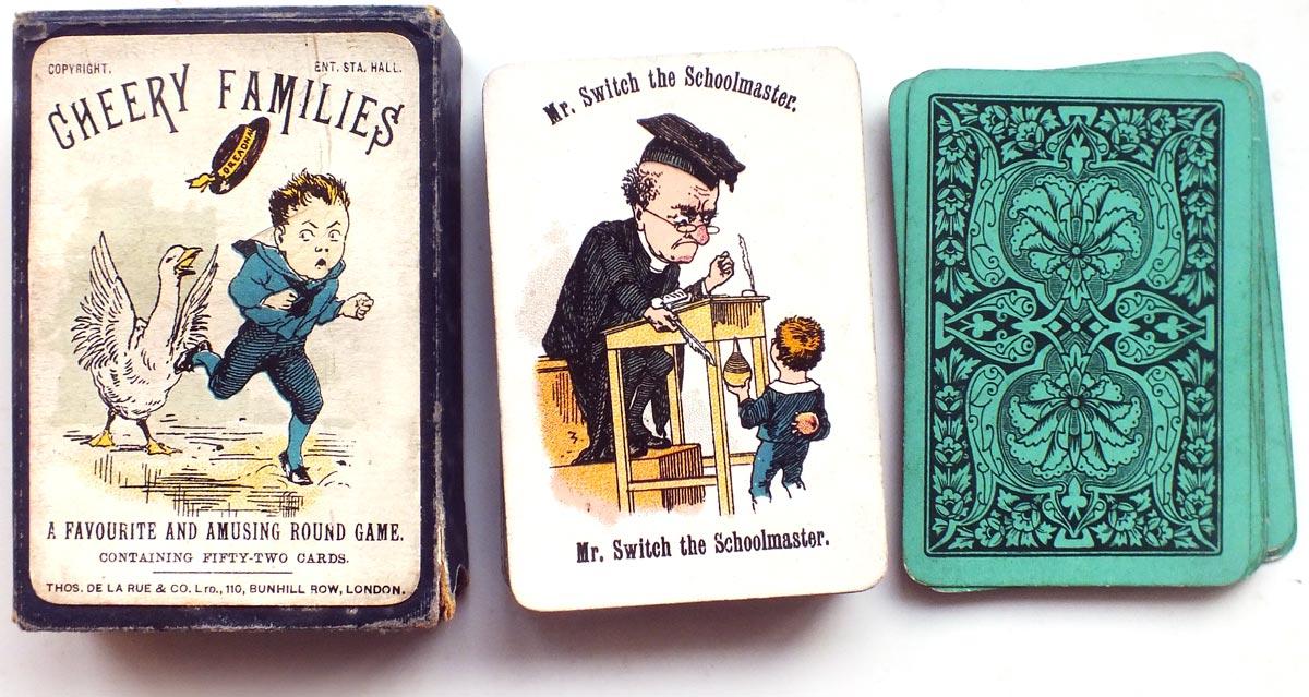Cheery Families printed by De La Rue & Co., Ltd, c.1893