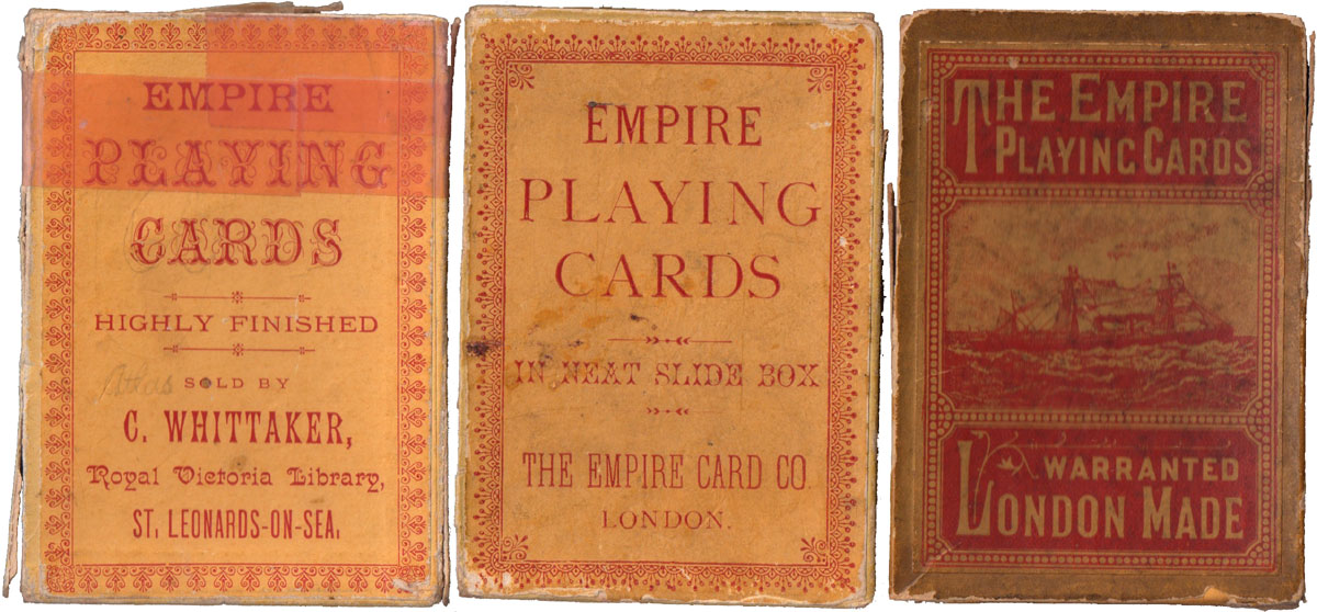 Empire Card Company boxes
