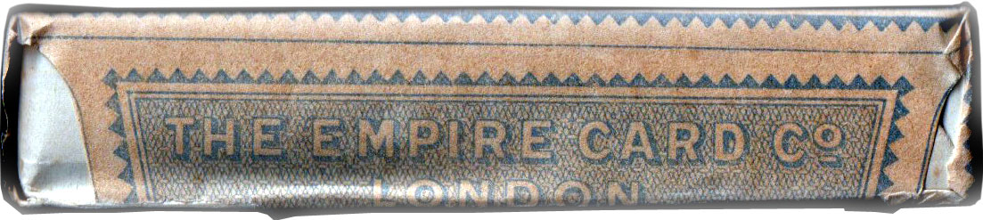 "De la Rue ""Favourite"" brand, c.1930, in printed Empire wrapper"