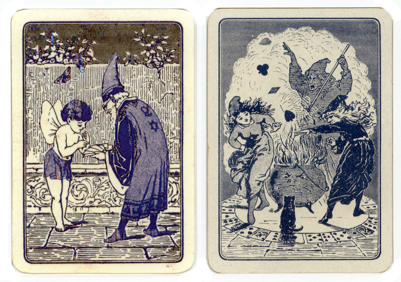 Very Gipsy Fortune Telling Cards - The World of Playing Cards PY25