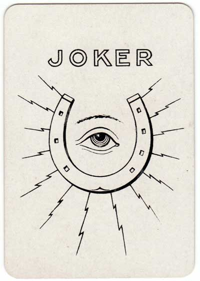 "Joker from ""Iddy Umpty"" card game manufactured by Thomas de la Rue & Co., Ltd, c.1905"