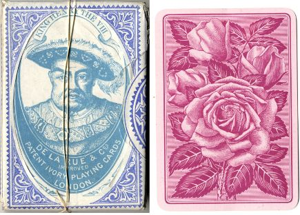 De la Rue's Patent Ivory Playing Cards, c.1900