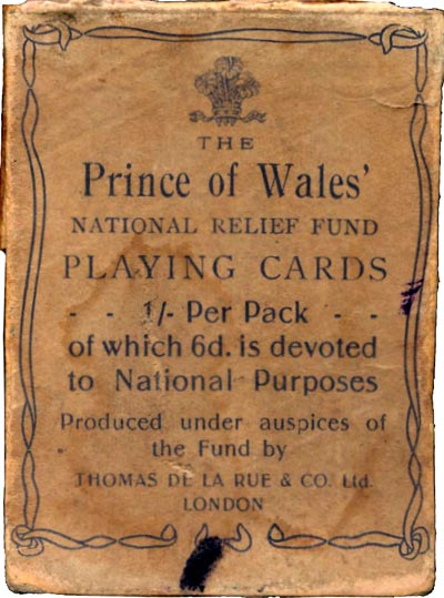 National Relief Fund, 1914