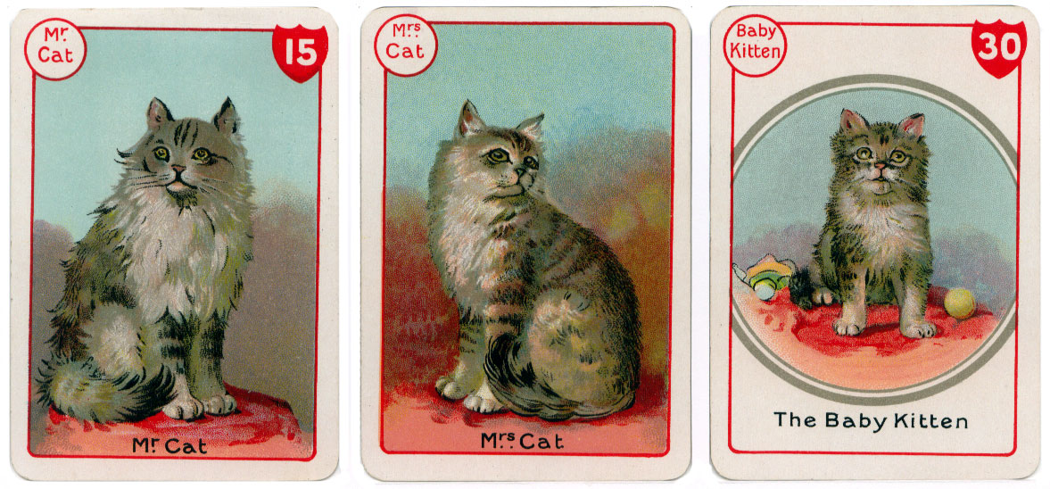 De la Rue's Noah's Ark card game, c.1905