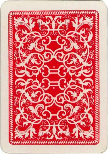Back from De la Rue's Noah's Ark card game, c.1905