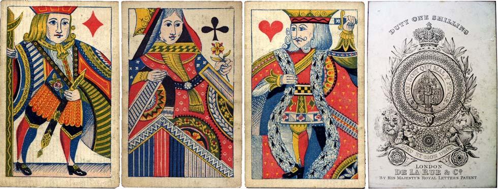 De la Rue's new fancy designs, c.1840-65