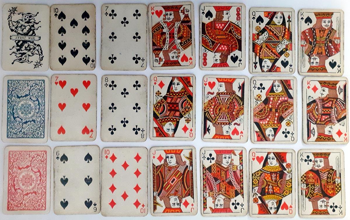 'Pigmy' miniature playing cards by Thomas De la Rue, c.1900