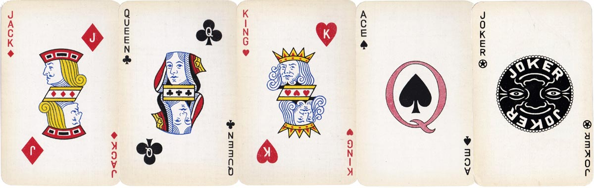'Q' Playing Cards, 1930s