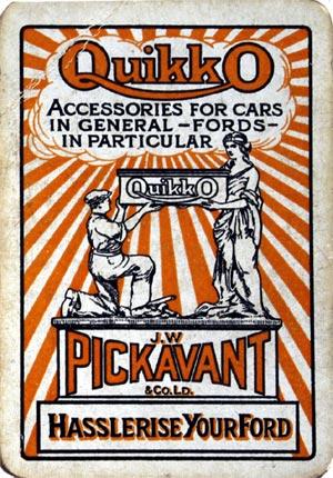 Pickavant and their Quikko works (Birmingham), c.1920s