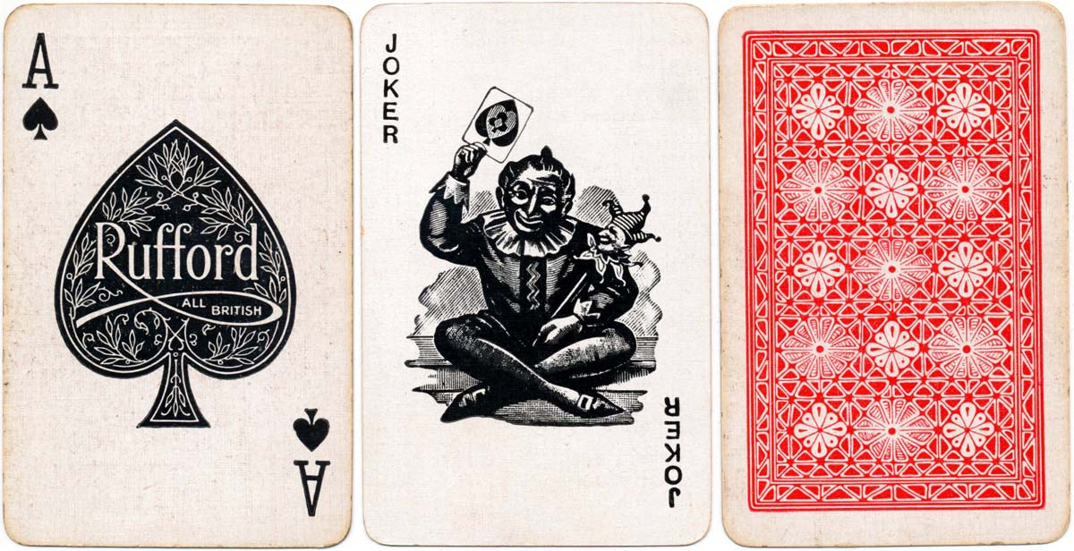Rufford playing cards, c.1950