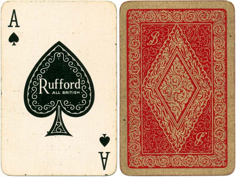 Rufford ace of spades, 1950s