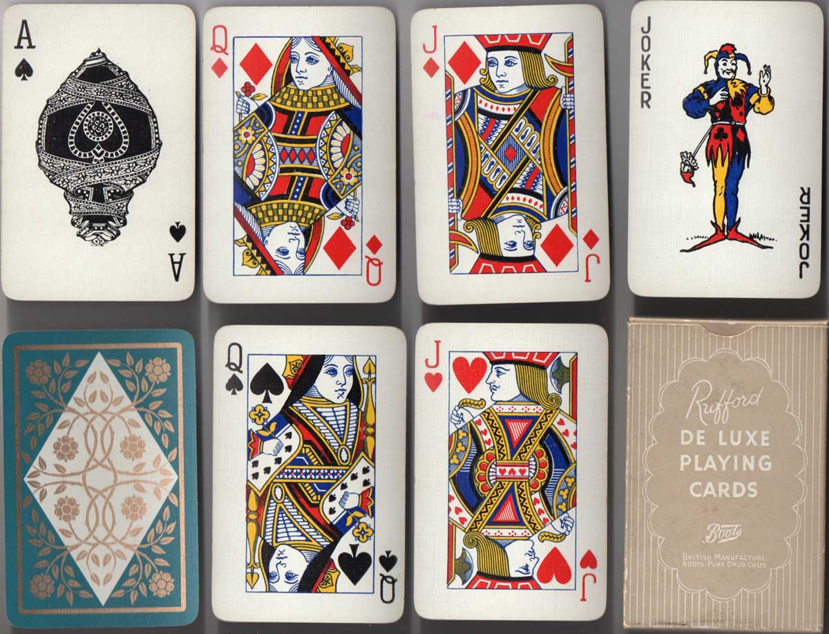 Rufford playing cards,  c.1958