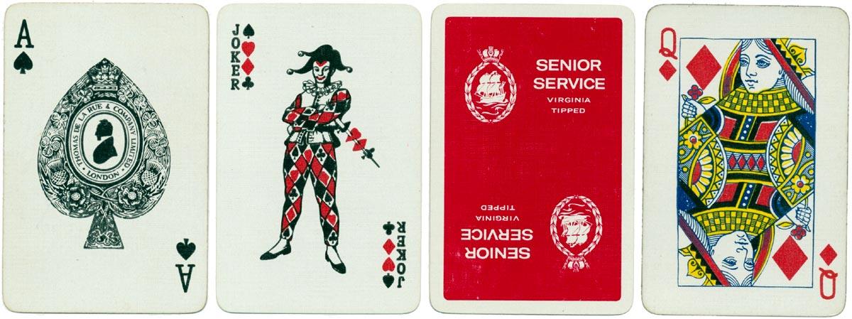 Advertising deck for Senior Service by De La Rue, c.1965