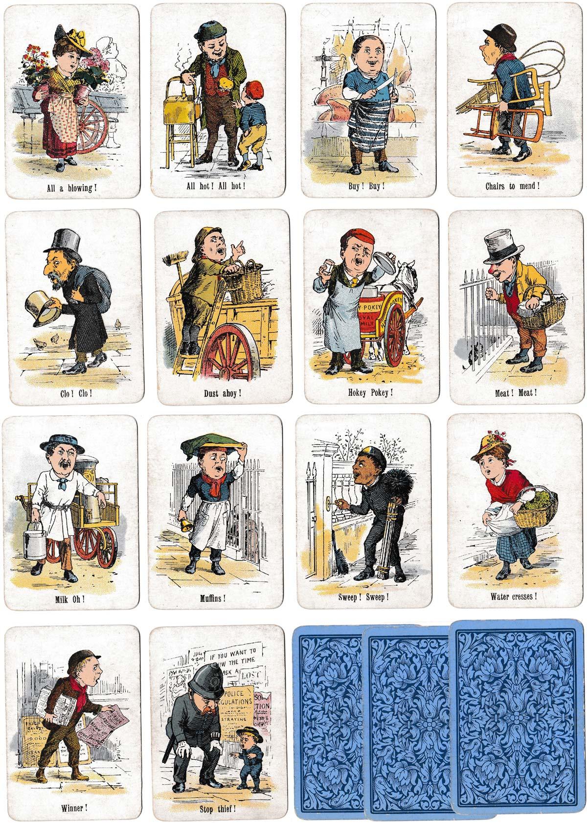 """Stop Thief"" round game by Thos de la Rue & Co Ltd,. c.1895"