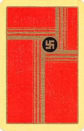 Swastika design playing cards, mid-to-late 1920s