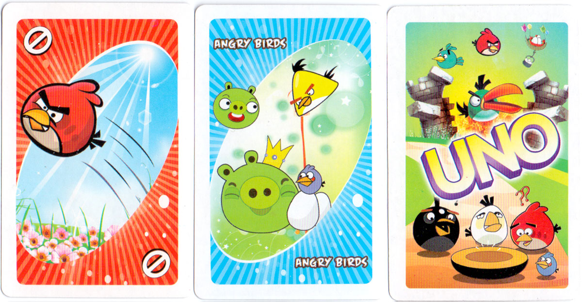 pirate edition of Angry Birds UNO made in China
