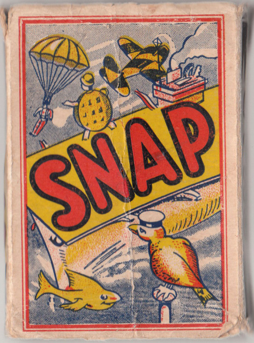 Wartime edition of 'Snap' game by an anonymous publisher