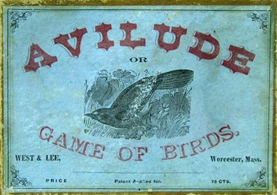Avilude or Game of Birds published by West & Lee, Worcester, Mass, c.1880