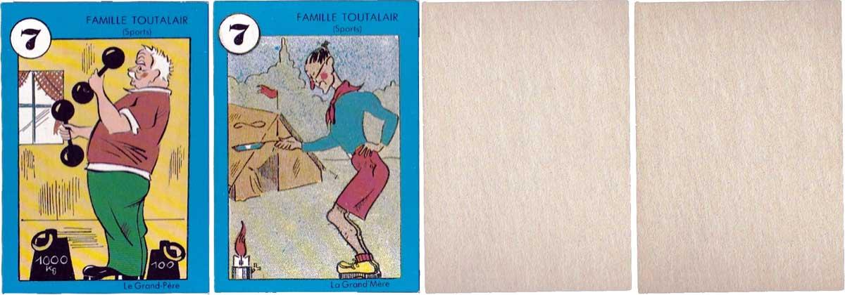 Bass & Bass 'Jeu des Familles' made by Franz-Josef Holler, Münich, 1989
