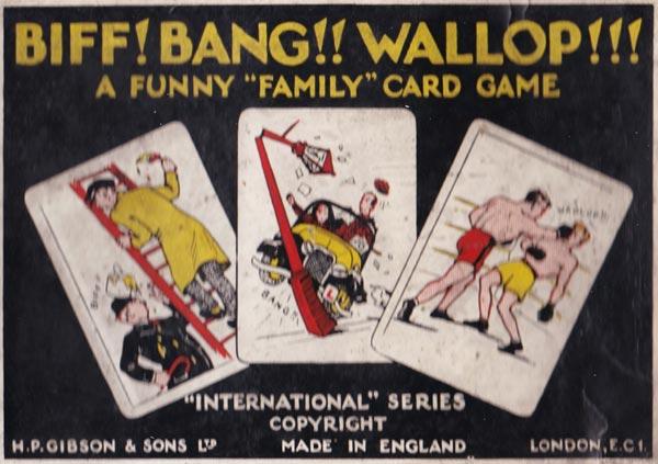 Biff! Bang!! Wallop!!! by H.P. Gibson & Sons Ltd, 1939