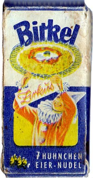 Birkel Schwarzer Peter Zirkus Kartenspiel box, c.1950