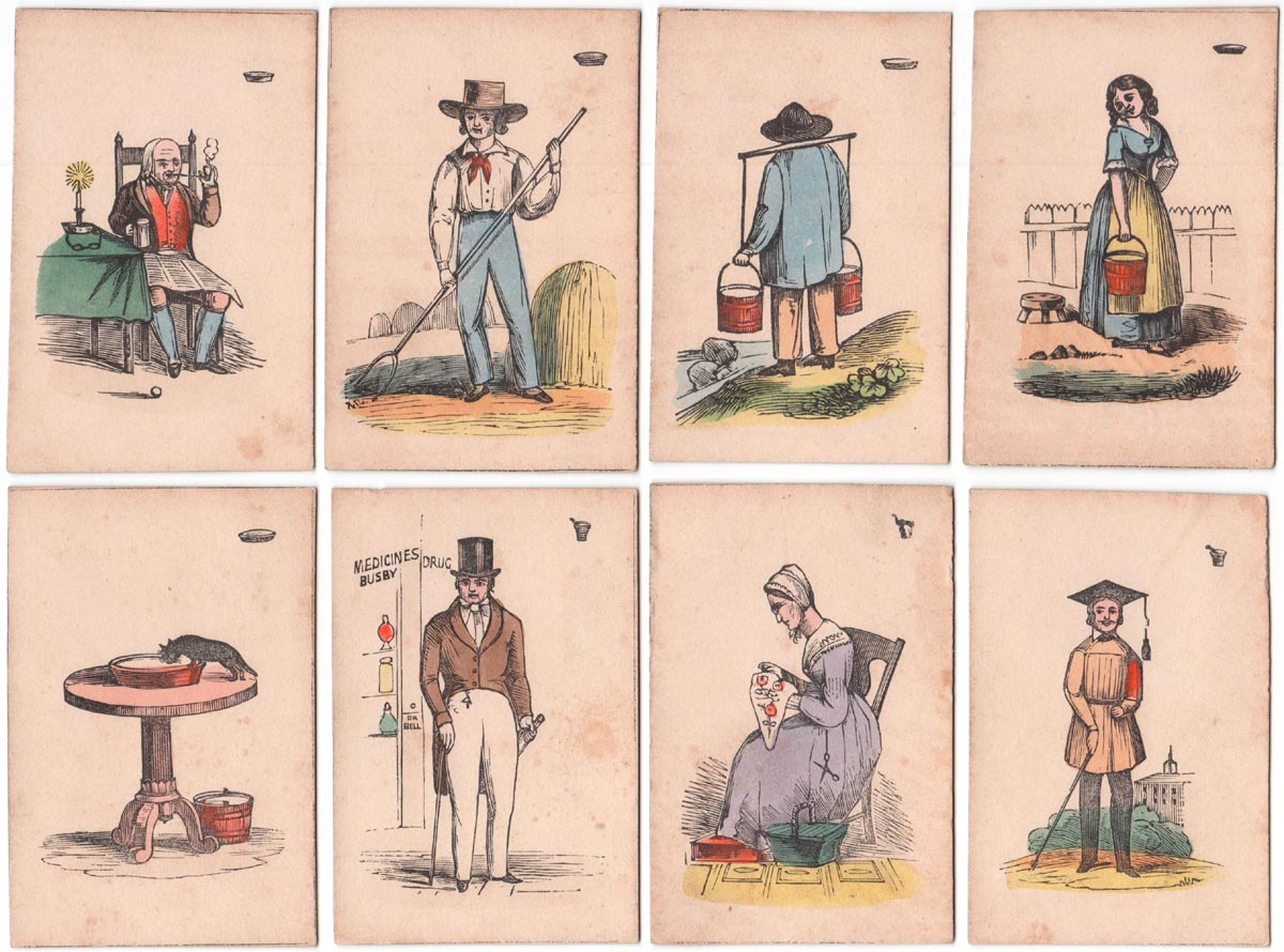 """""""Game of Doctor Busby""""- unknown manufacturer, c.1850"""